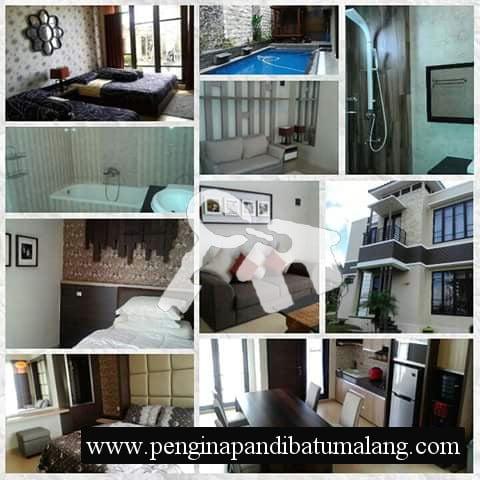 Villa Kolam Renang di Batu Malang VIP